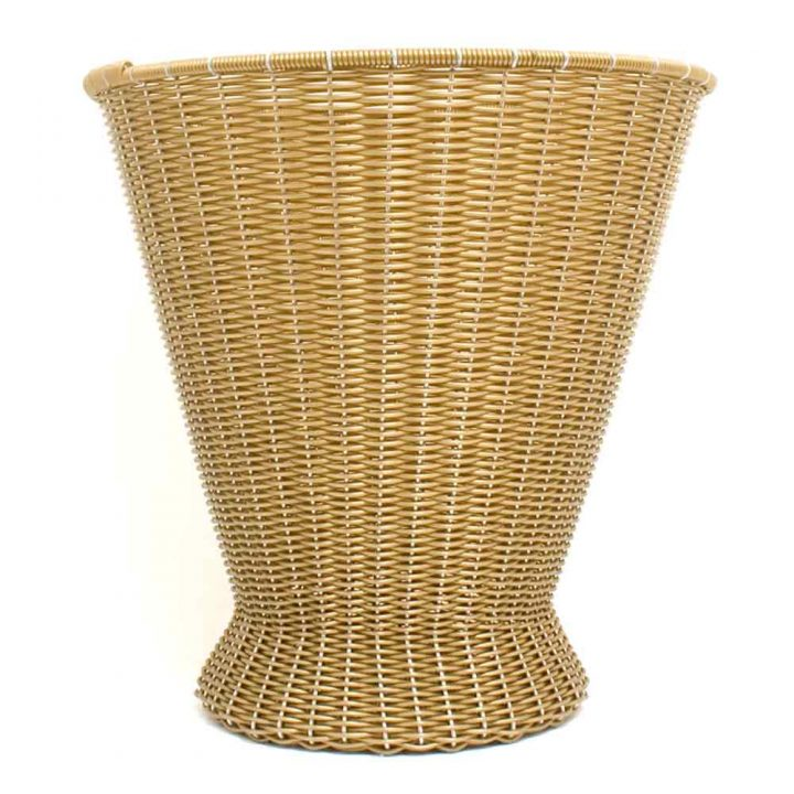 gold paper baskets