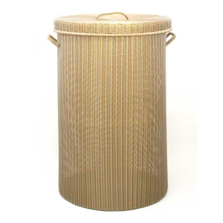 gold large family laundry basket