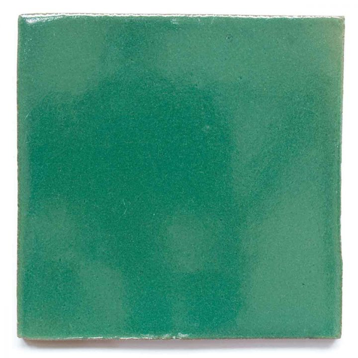 mexican green hand made tiles