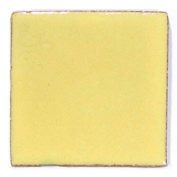 primrose yellow hand made tiles