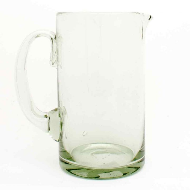 clear straight jug