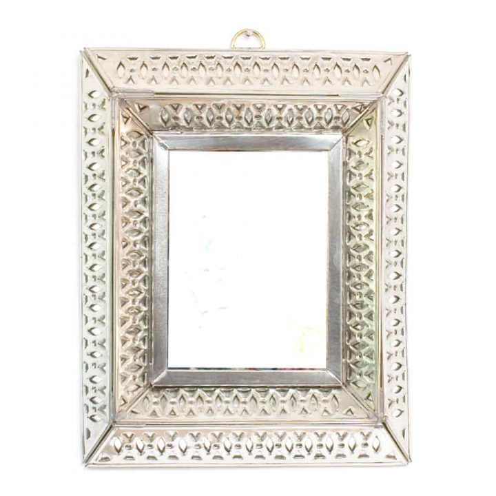 tin knot mirror