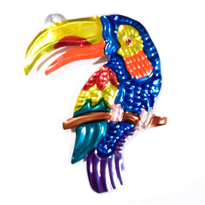 tin birds hand made in Mexico