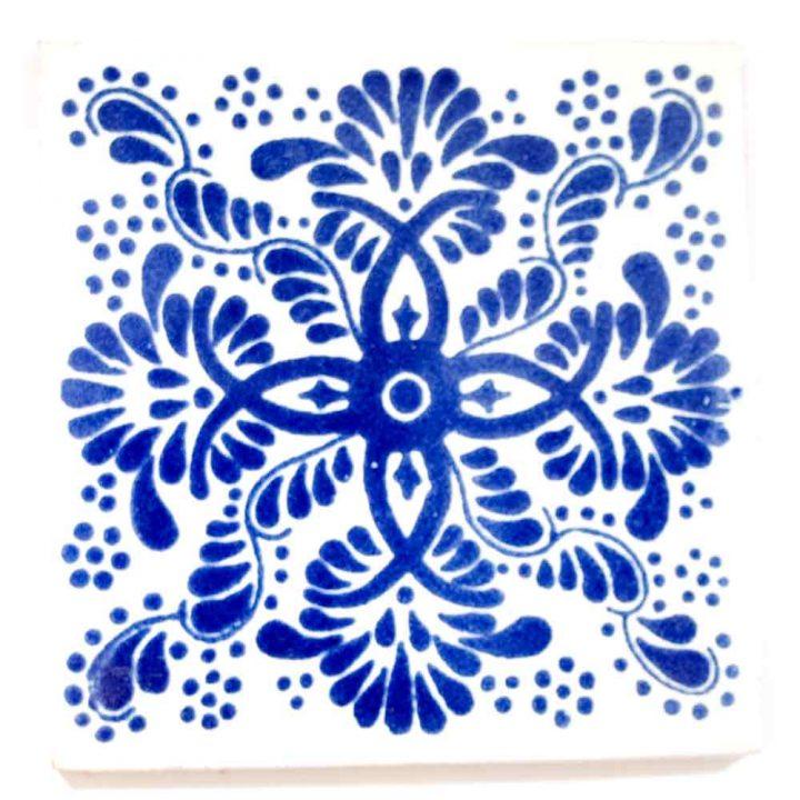 Veronica blue hand made tiles.