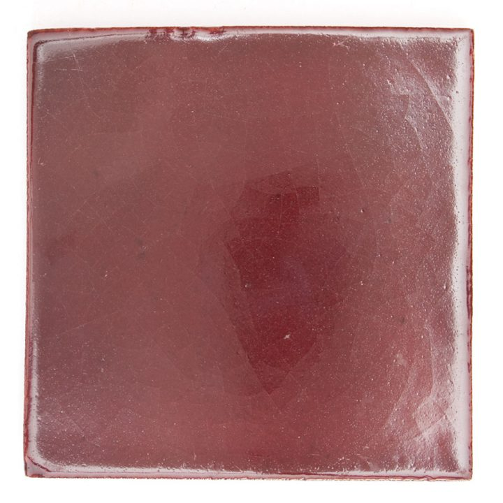 cherry hand made wall tiles from Mexico