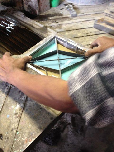 making encaustic tiles