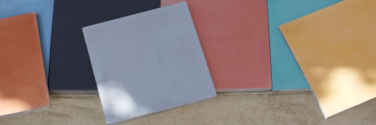 plain encaustic tiles
