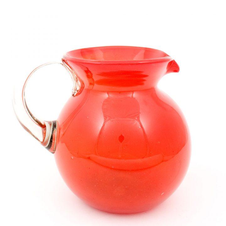 red-round-jug