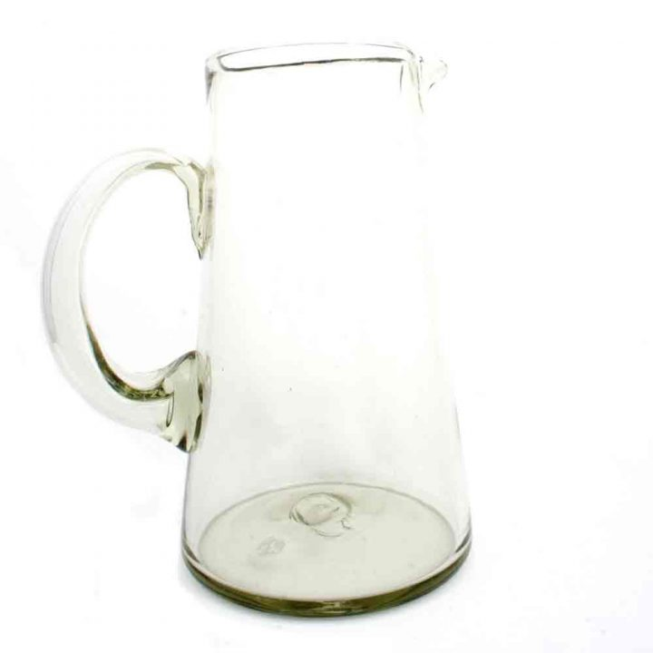 clear lechero jug