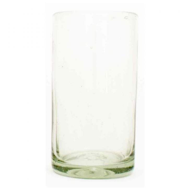 clear straight tumbler