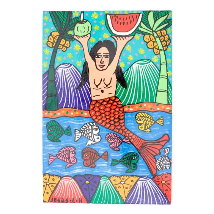 mermaid saint paintings