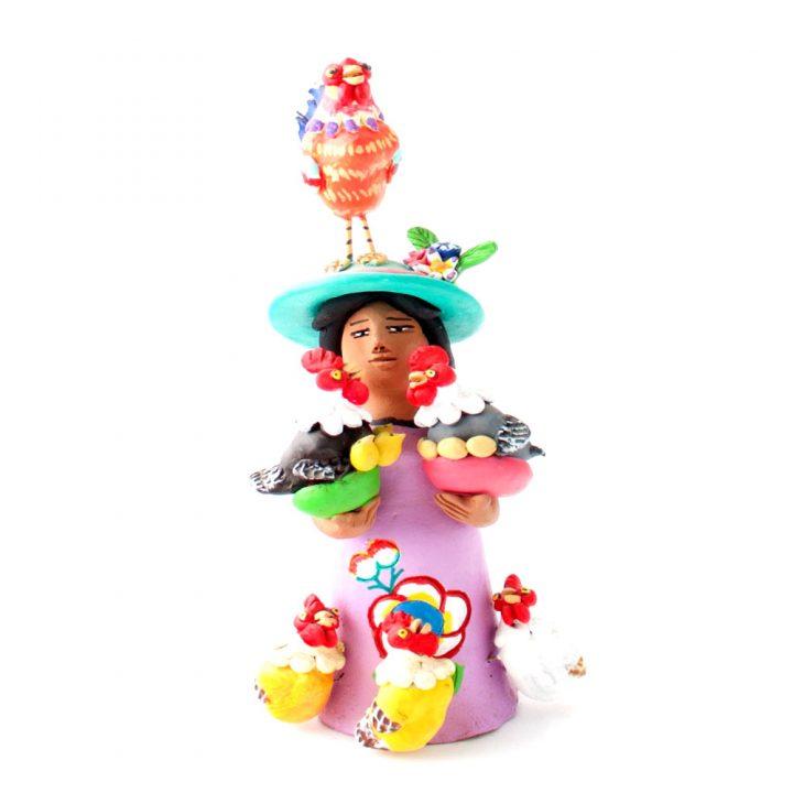 Mexican figure folk art.