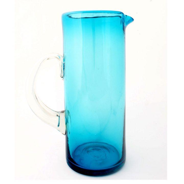 turquoise straight jug.