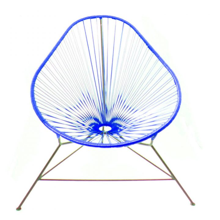Blue acapuloc chair