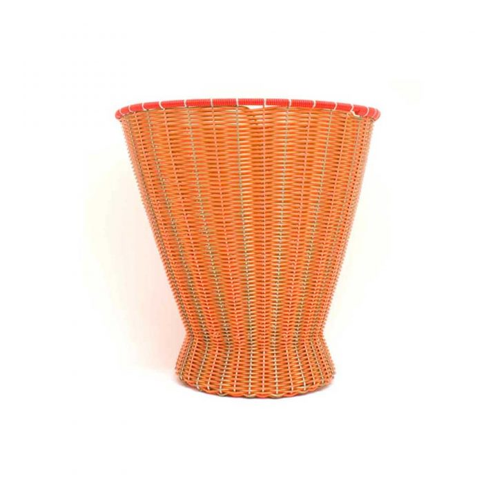 Gold and orange basket