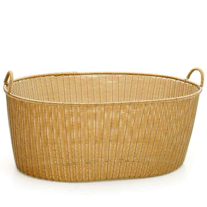 Gold ironing baskets
