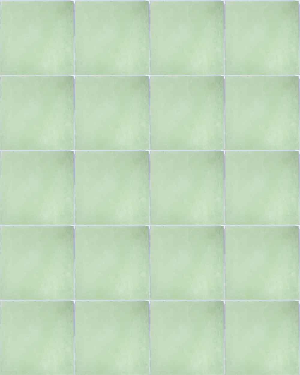 Laurel green encaustic tile milagros green hand made encasutic floor tiles dailygadgetfo Images