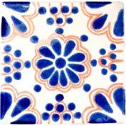 lace blue terracotta