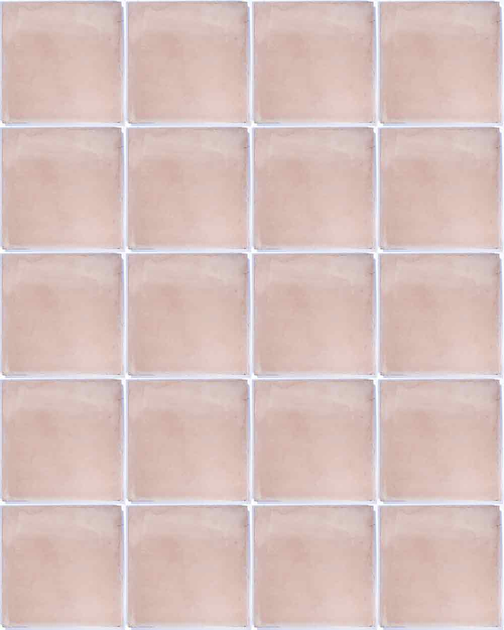 Pink lace encaustic tile milagros encaustic pink hand made floor tiles dailygadgetfo Image collections