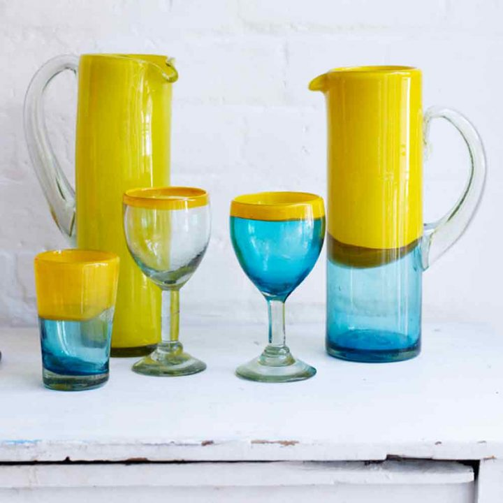 Two Tone Glassware
