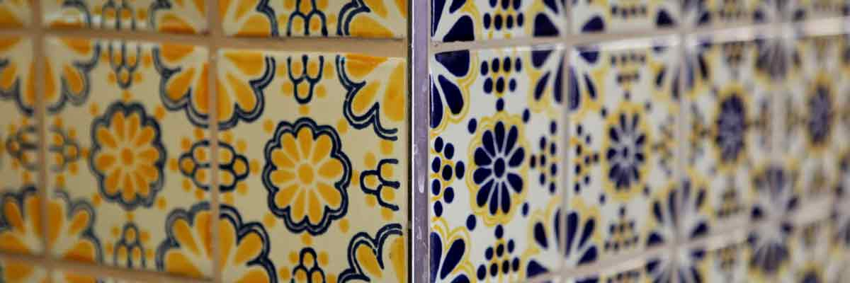 Mexican Tiles Hand Made Tiles From Milagros
