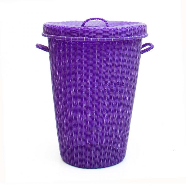 Conical laundry baskets