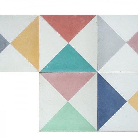 Dandy Star Encaustic Tiles