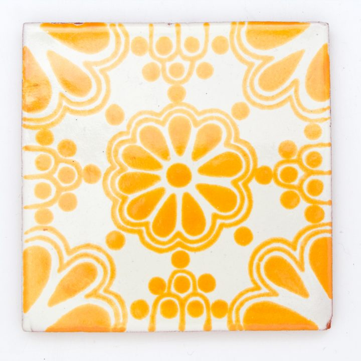 lace yellow tile